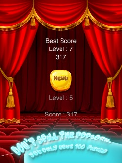 100 Perfect Popcorns Game for iPhone, iPad and iPod -2