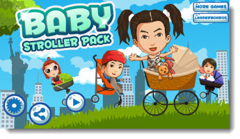 Download iPad Games - Baby Stroller