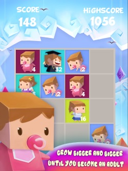 Baby Growing Puzzle iPod Game