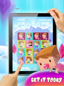 baby growing puzzle games for iPad
