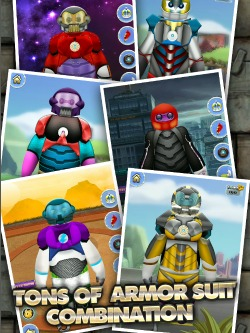 Big Hero 6 Inspired Game - Big Iron Robot Hero for iPads