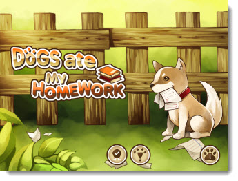 Apple Games - Dogs Ate My Homework