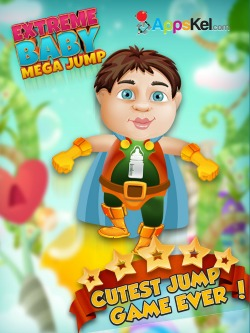 Extreme Baby Mega Jump iPhone game