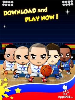 Gilas Pilipinas Laban! Puso! Android Game