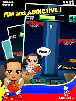 Gilas Pilipinas Laban! Puso! iPhone Game