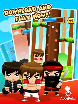 lumberjack warrior iphone game