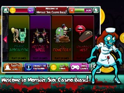 Monster Slot Casino Blast for iPhone Game