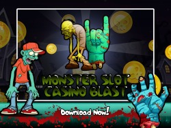 Monster Slot Casino Blast for iPad Game