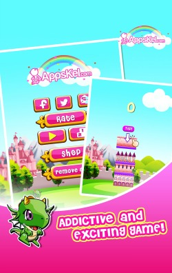 Princess Model Girls Tower Fantasy iPad Game