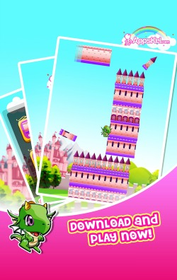 Princess Model Girls Tower Fantasy iPhone Game