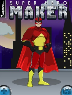 Super Hero Maker iPad Game