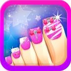 Toe Nail Salon for Fashion Girls