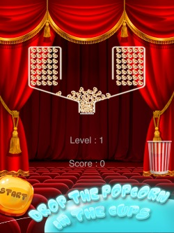 100 Perfect Popcorns Game for iPhone, iPad and iPod