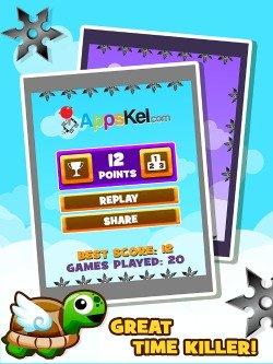 Amazing Turtle Mega Jump iPod game