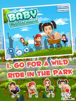 Baby Stroller Runner iPad Game