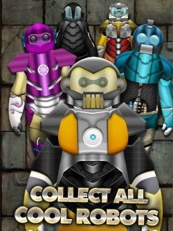 Big Hero 6 Inspired Game - Big Iron Robot Hero for iPods