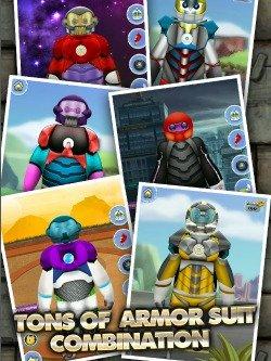 Big Hero 6 Inspired Game - Big Iron Robot Hero for iPads
