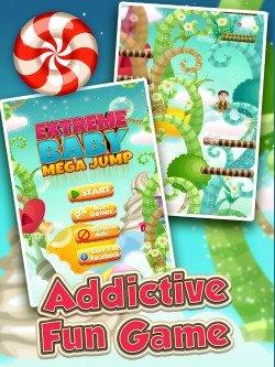 Extreme Baby Mega Jump iPad game