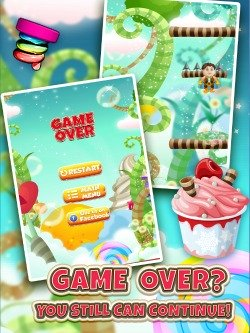 Extreme Baby Mega Jump iPod game