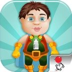 Extreme Baby Mega Jump game for iPad, iPhone, iPod