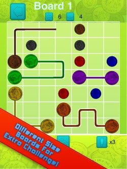 Flow Connect Challenge iPhone Game