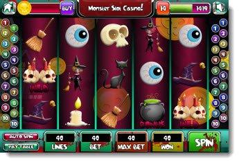 iPod Games - Monster Slot Casino