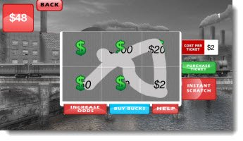 Lotto Scratcher