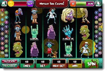 iPod Games - Monster Slot Casino