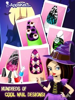 Little Nail Salon For Monsters iPod game