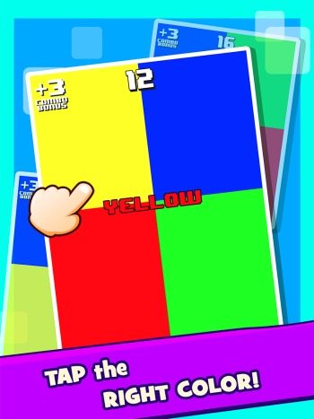 RGBY Color Mania ipod game