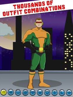Super Hero Maker iPod Game