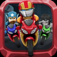 Superhero Stunt Bike
