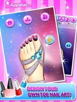 Toe Nail Salon for iPad