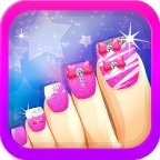 Toe Nail Salon for Fashion Girls