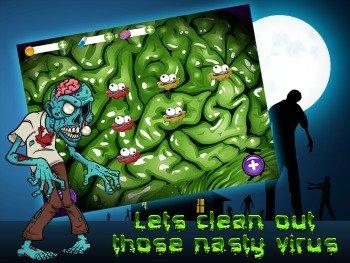 Zombie Virus Blast iPad Game