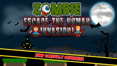 Zombie Escape The Human Invasion iPad Game