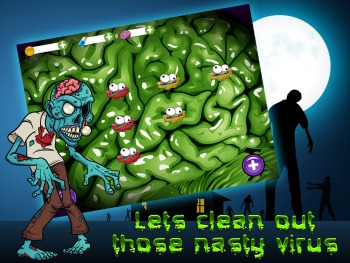 Zombie Virus Blast iPad Game