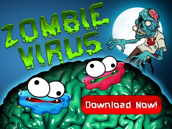 Zombie Virus Blast iPhone Game